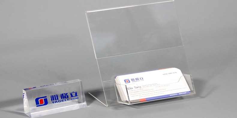 Acrylic variety of Sign Holder
